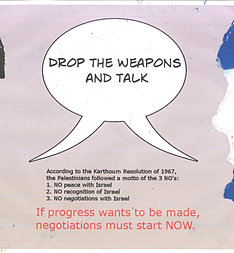 Drop the weapons and talk