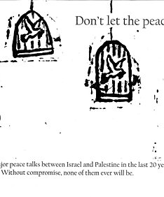 SOLD! - Don't let peace be caged