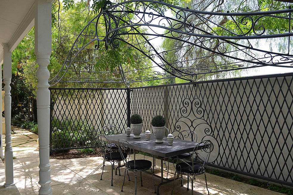 Landscape design perth claremont naturescape creative for Courtyard landscaping perth