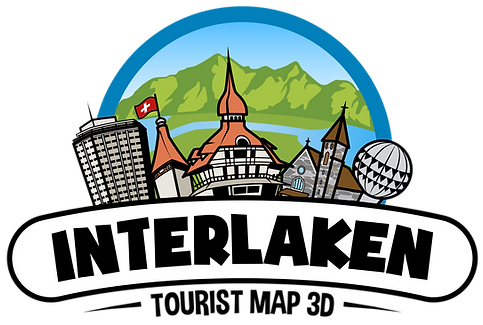 3D Map Interlaken