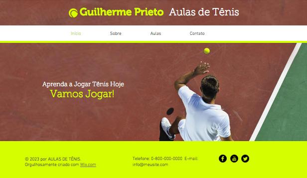 Instrutor de Tênis