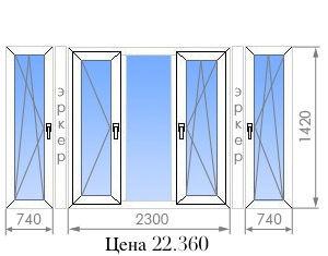 Цены на пластиковые окна в п-44т от 8 900 руб. - okna street.