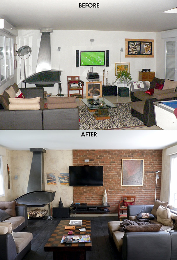 Industrial Interior Design Loft Home