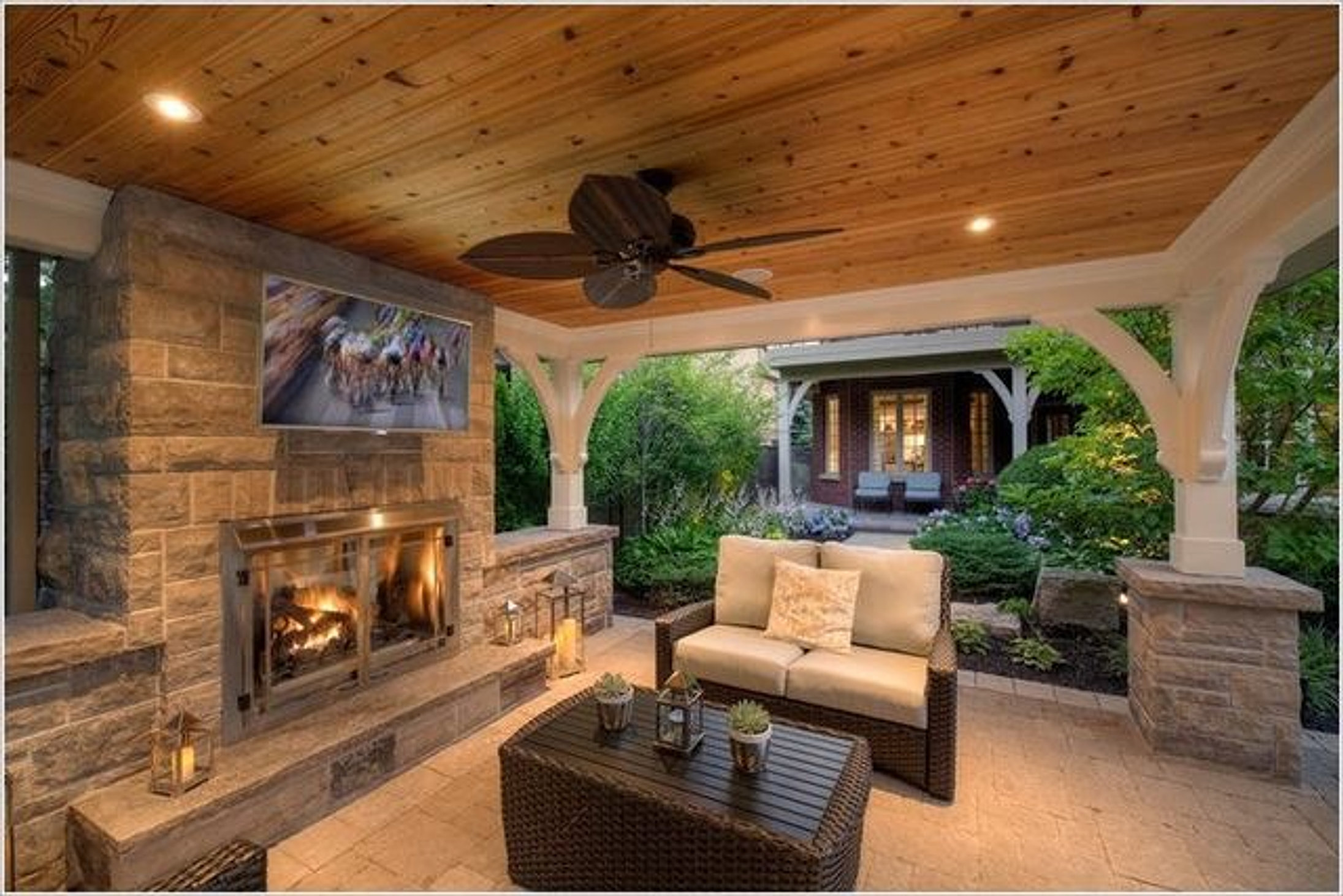 pittsburgh outdoor living /home | outdoor tv area ideas