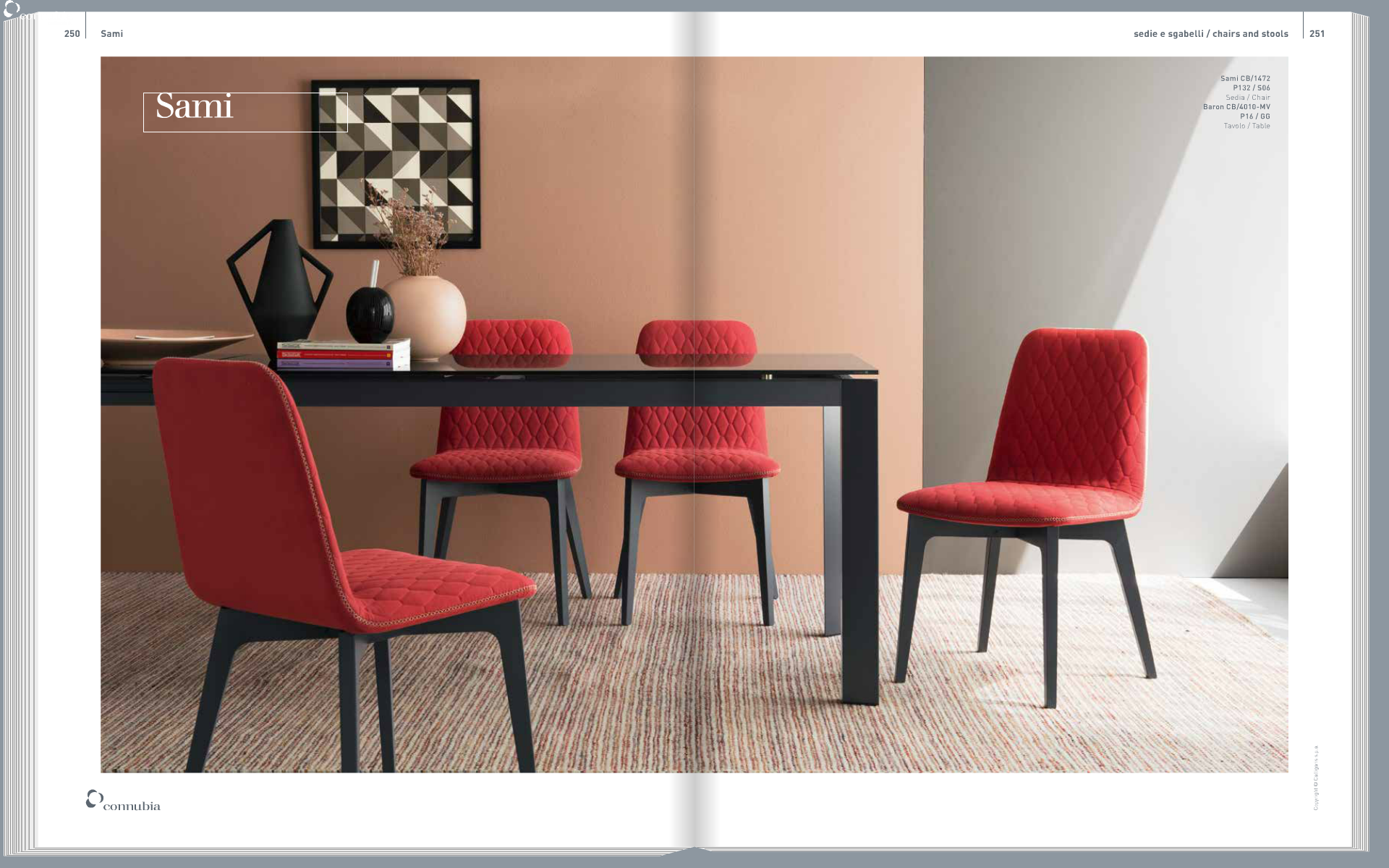 Calligaris cannubia made in italy