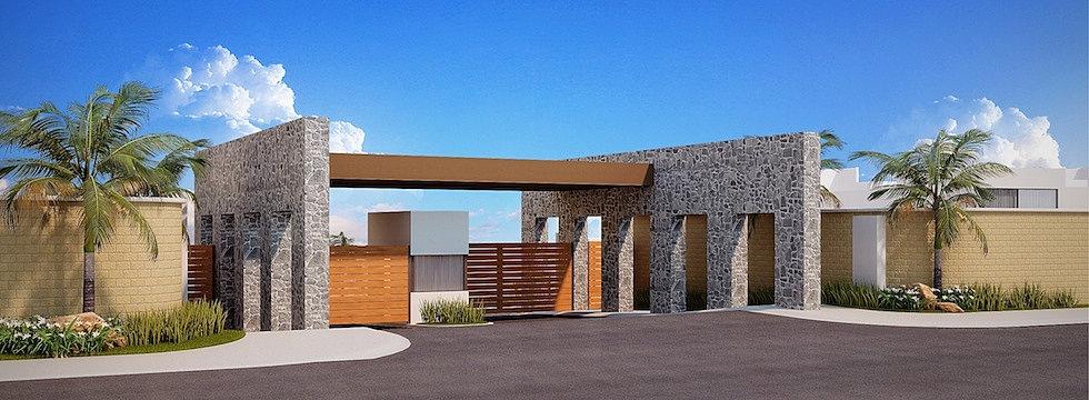 Acceso Punta Azul, Casas Platino