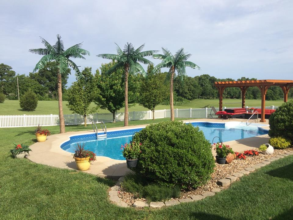 small custom pools with Fake Palm Trees Can Create An Oasis on Spools additionally caribbeanpoolsandspas likewise Austin Award Winning Swimming Pool Designs besides 9277 together with Stegmeier Products.