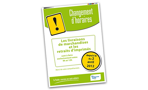 graphiste angers affiche horaires