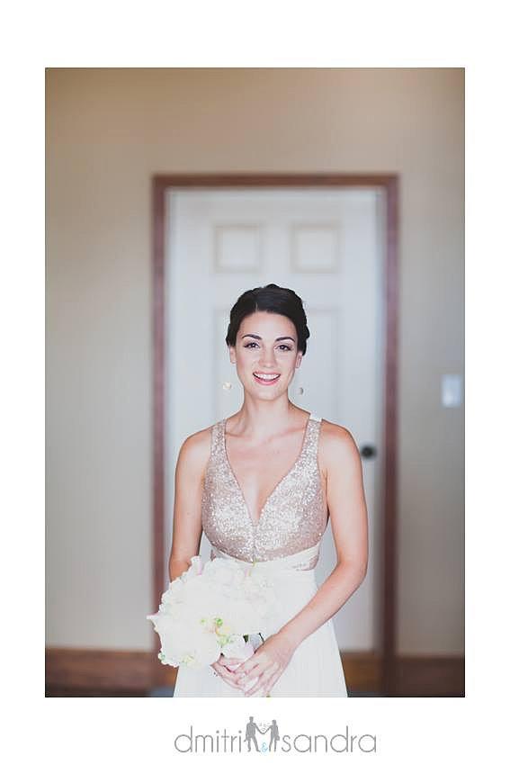 Susan Bortz Designs Blushing Bride