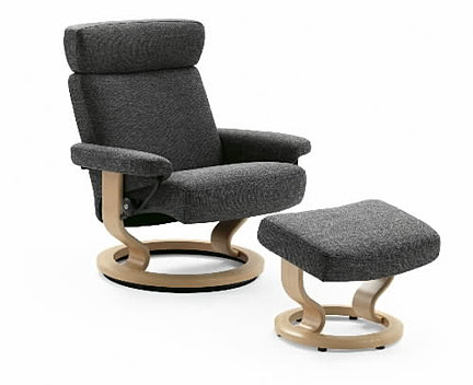 best price on ekornes stressless orion recliner chairs. Black Bedroom Furniture Sets. Home Design Ideas