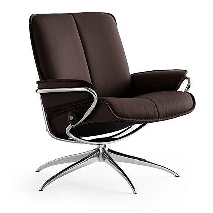 best price on stressless city recliner by ekornes. Black Bedroom Furniture Sets. Home Design Ideas