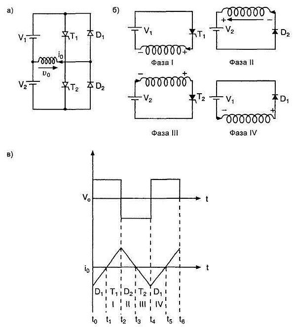 Электрическая схема, рабочие