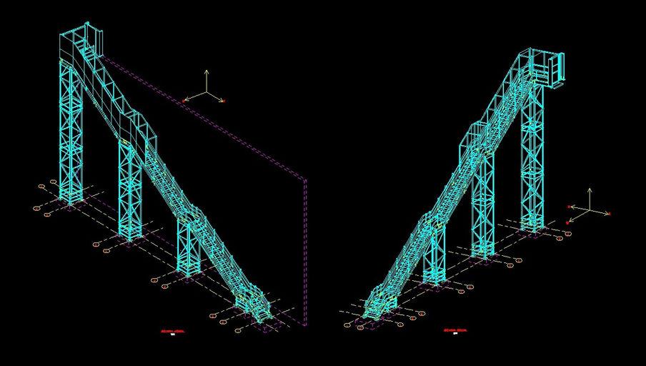 Apmen ingenieria modelado de estructuras metalicas y de for Planos de estructuras