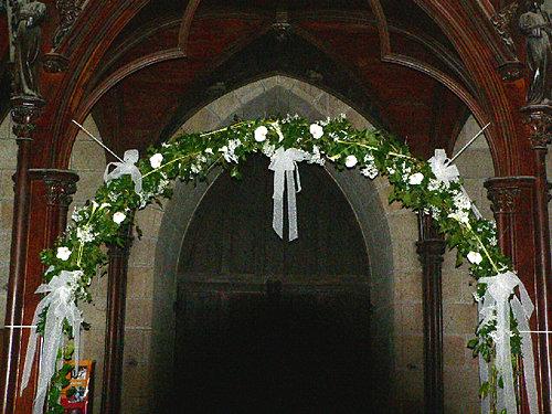 Decoration eglise mariage photos blog photo de mariage for Decoration eglise