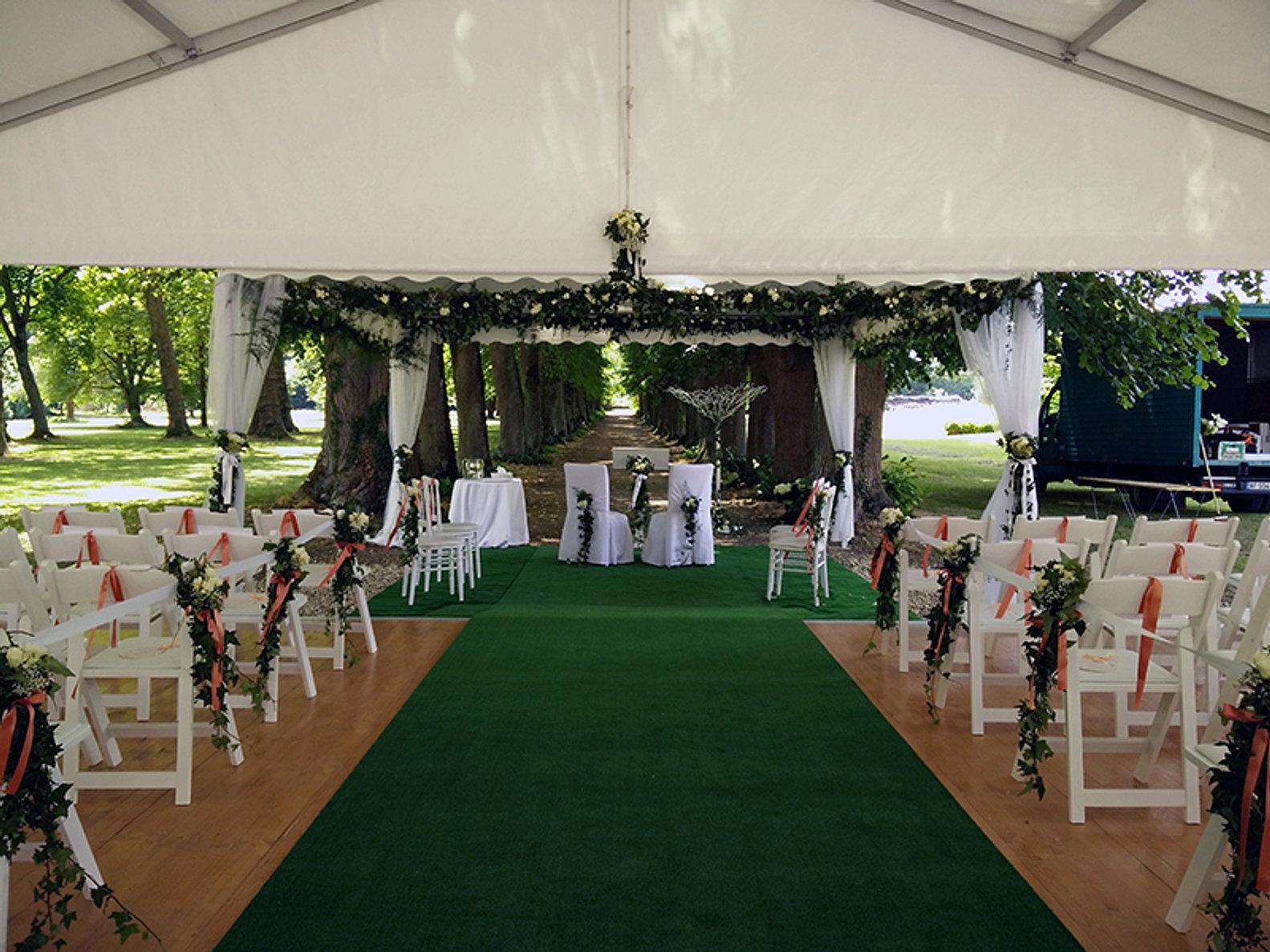 decoration salle de mariage auxerre yonne