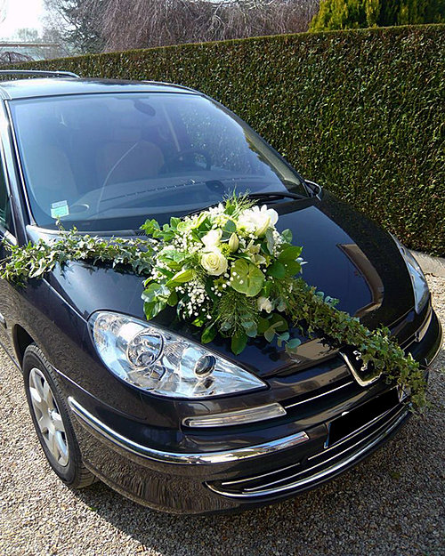 capot voiture fleuri mariage auxerre yonne. Black Bedroom Furniture Sets. Home Design Ideas