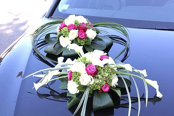 Fleur Decoration Voiture Mariage