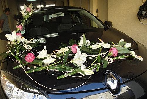 voiture mariage auxerre yonnejpg - Decoration Capot Voiture Mariage