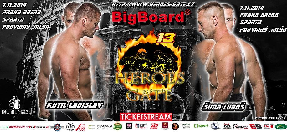 HEROES GATE  13
