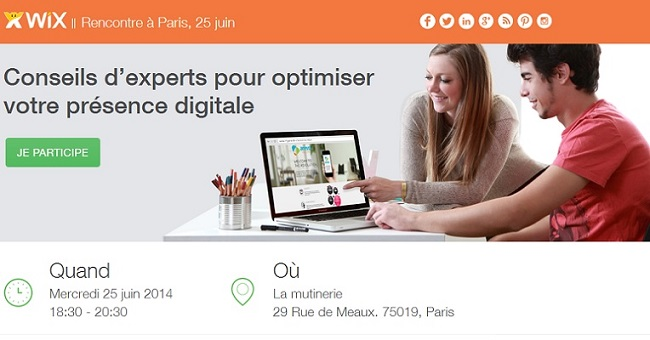 Optimiser Un site WIX