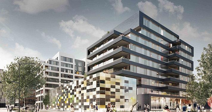 Ga tan le penhuel associ s architectes lyon confluence for Z architecture lyon