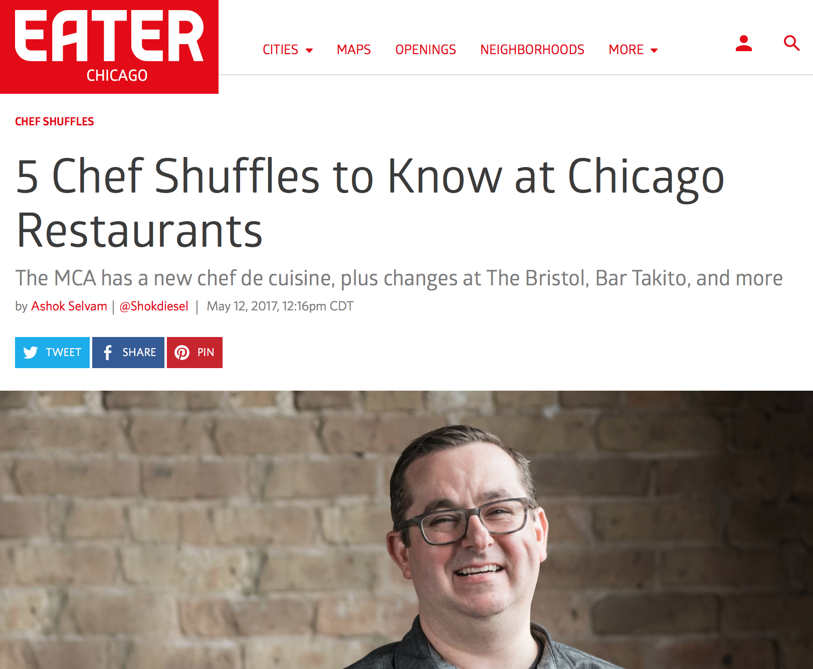 5 Chef Shuffles to Know at Chicago Restaurants | Fulton Market ...