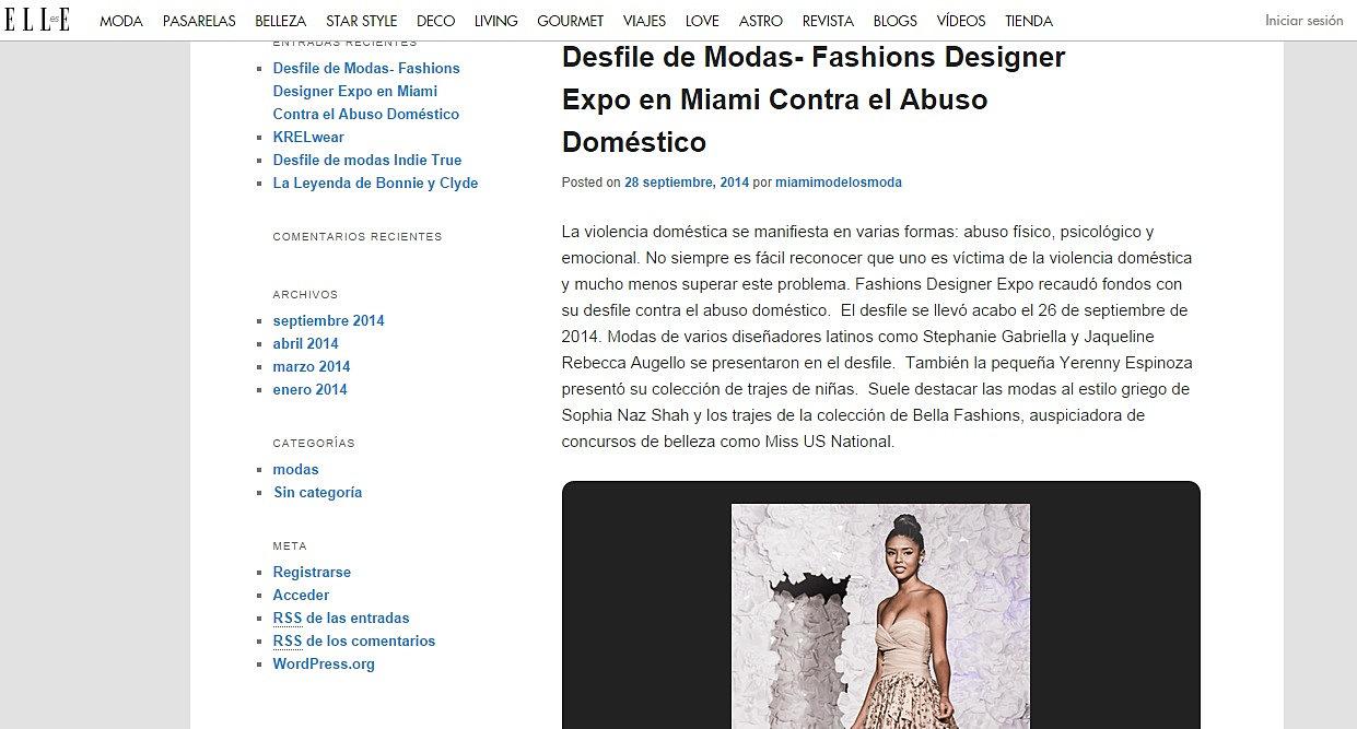 fashion designers expo
