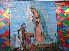 inauguración, Virgen de la Guadalupe