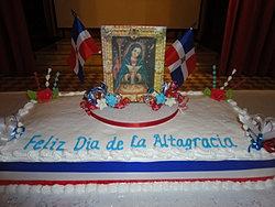 Feliz dia de la Altagracia 1/20/2013