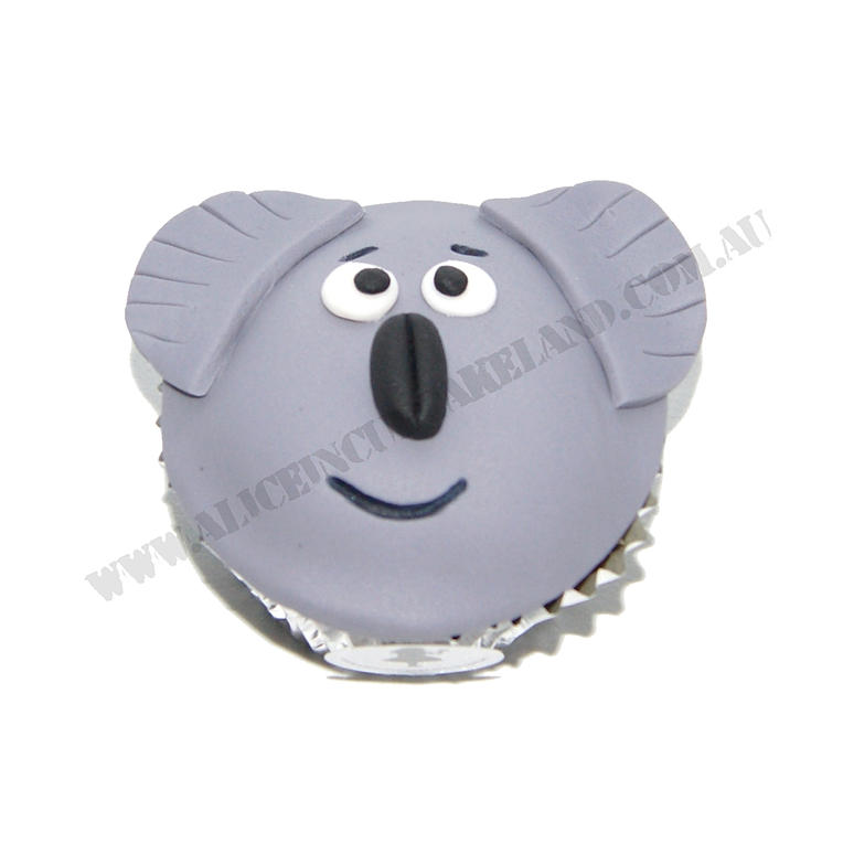 Fondant Koala Cupcakes 3d Fondant Koala Cupcakes