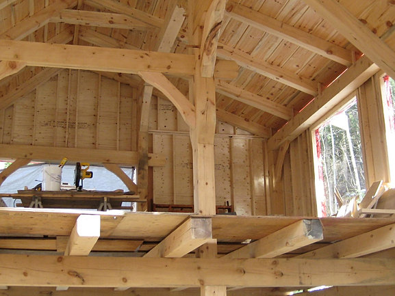 Log And Timber Frame Homes Cabin