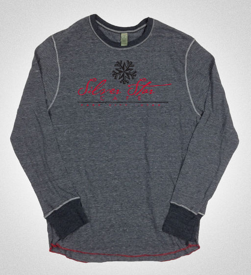 Men's long-sleeved crew