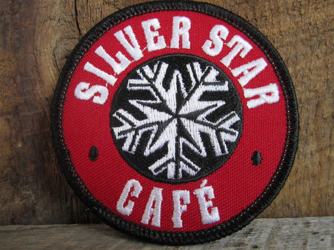 Silver Star Cafe retro patch