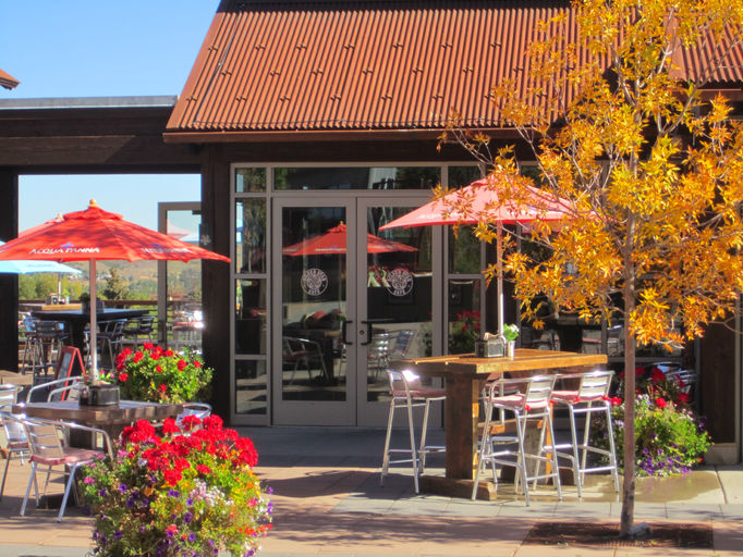 Silver Star Cafe in Fall