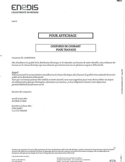 Commune de laqueuille tableau d 39 affichage - Panneau affichage declaration prealable ...