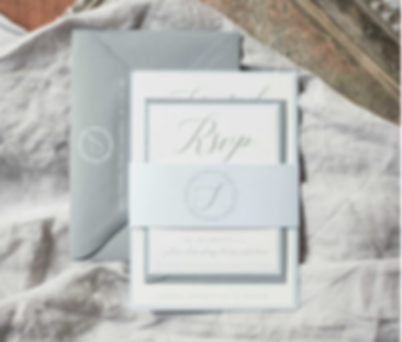 Editorial Barn Wedding Invitation