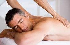 Male Massage Image just back
