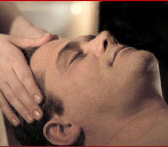 Male Indian Head Massage