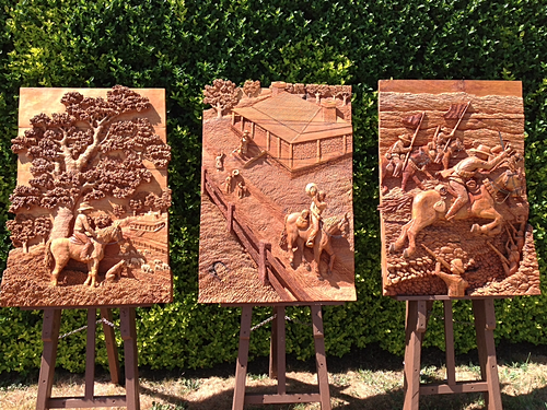 Richard yates sculpture carving victoria australia
