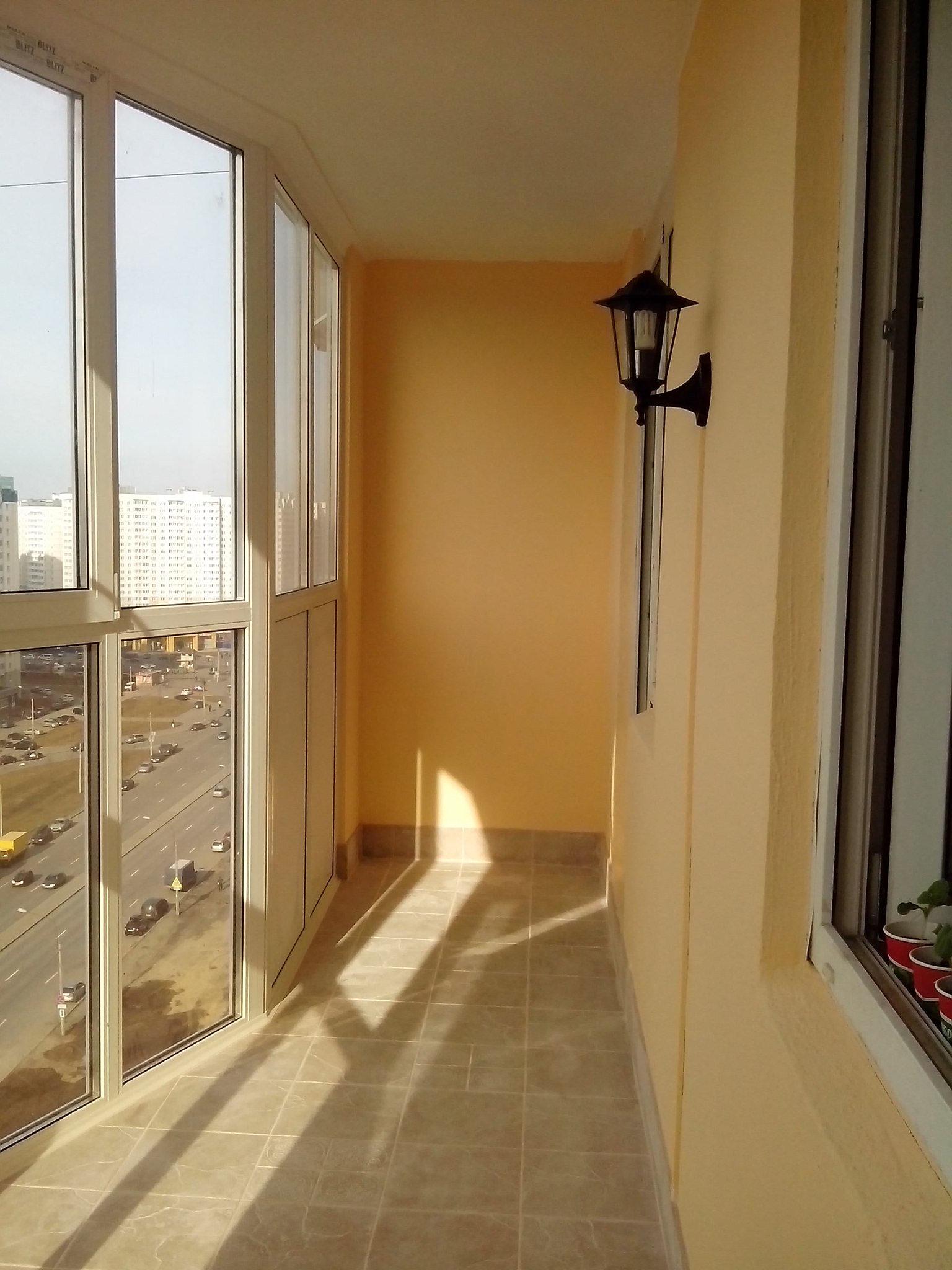 Изменение остекление балкона. - дизайн маленьких лоджий - ка.