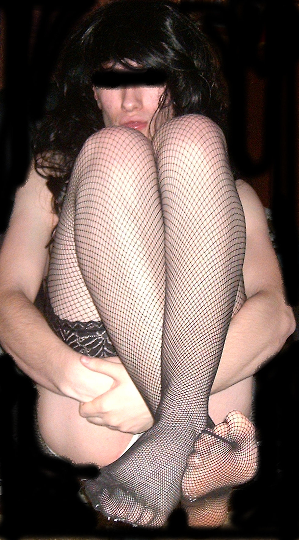 Candy's Fishnet Stocking