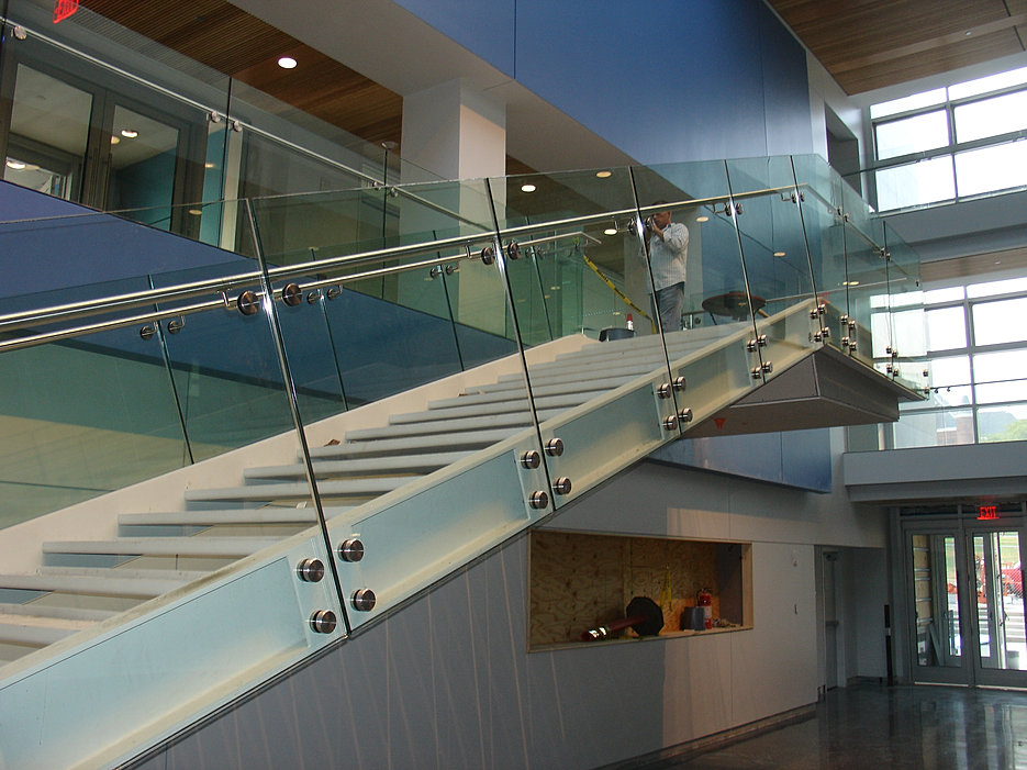 Sun architectural products custom glass metal for Architectural railings