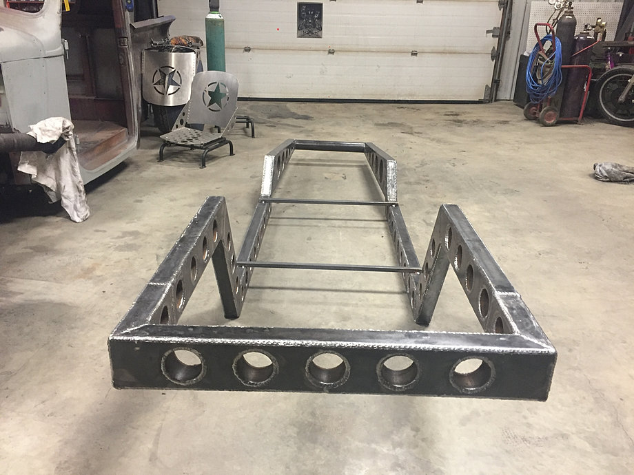 how to build az frame rat rod