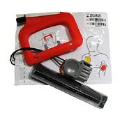Physio Control Medtronic Lifepak CR Plus elektroder batteri