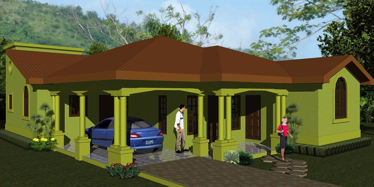 Jamaican home designs home design and style for Jamaican house designs
