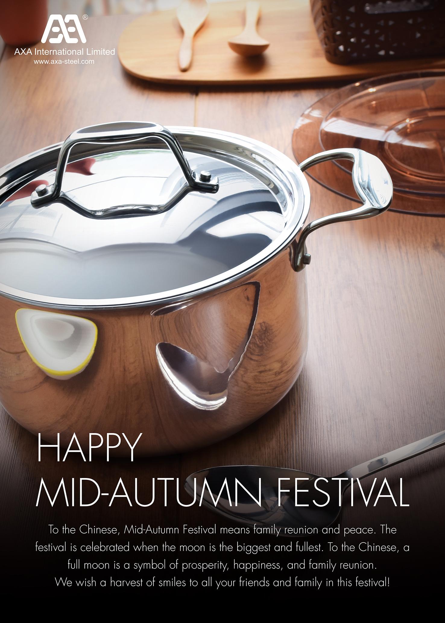 Happy mid autumn festival from axa axa international limited happy mid autumn festival from axa axa international limited stainless steel cookware kristyandbryce Choice Image