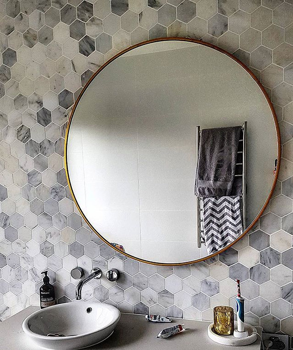 Beautiful Mirror have your mirrors hung safely & securely, mirror hanging brisbane city