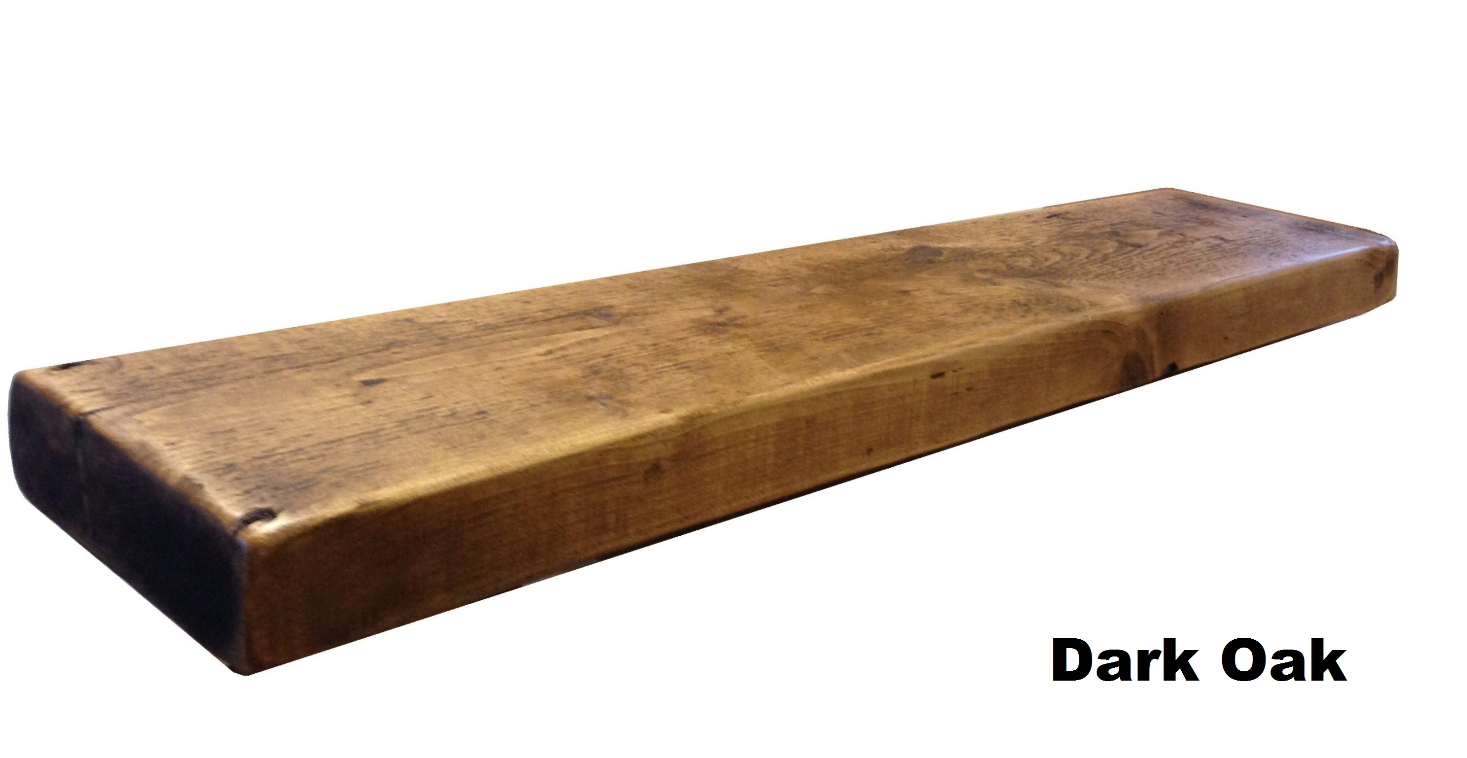 Amazing photo of RECLAIMED CHUNKY FLOATING SHELF SHELVES WOODEN. eBay with #6C4220 color and 2978x1538 pixels