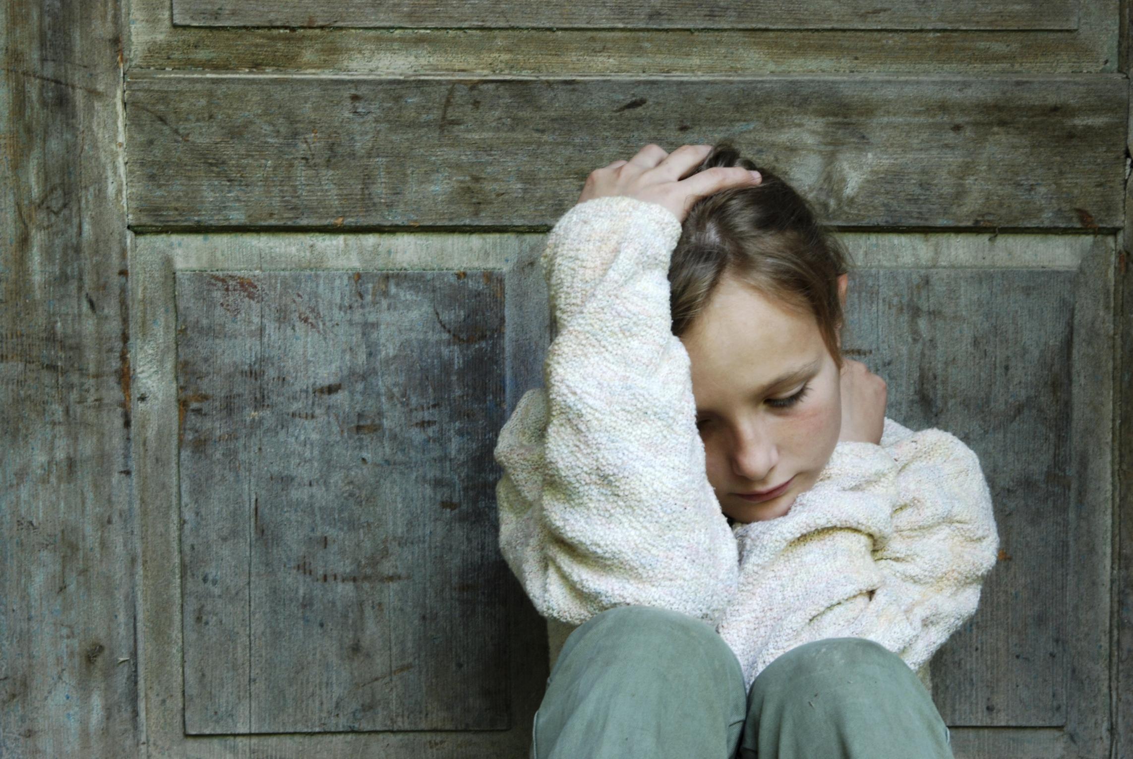 Resultado de imagem para criança depressão