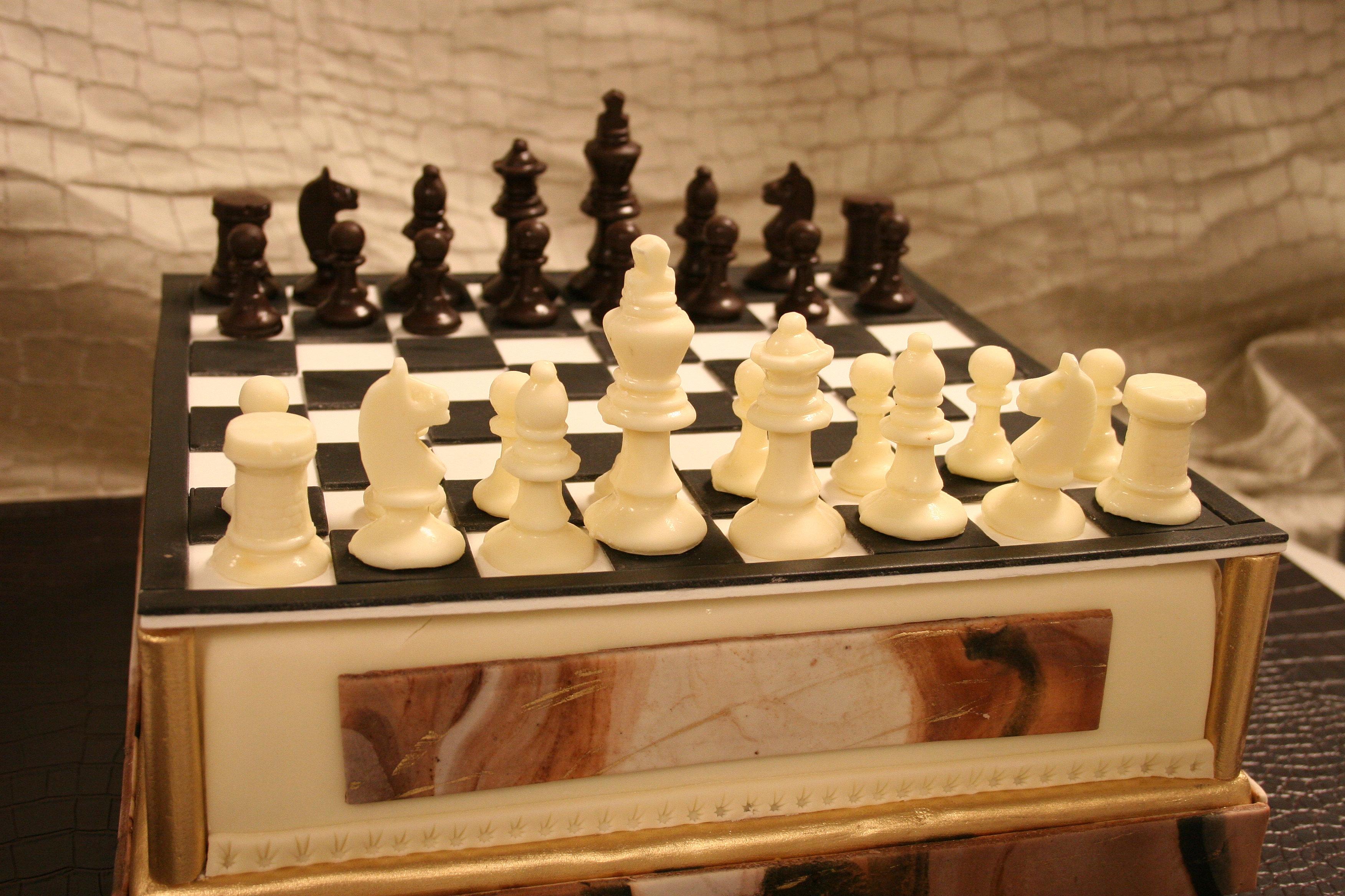 Chess Wedding Cake